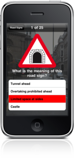 Road Signs for the UK on iPhone