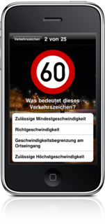 Road Signs for Germany on iPhone