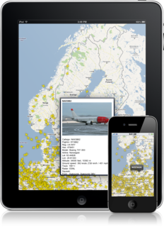 Flightradar on iPhone and iPad