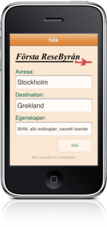 Swedish Last-Minute Charter on iPhone