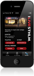 ILIVESTHLM - Estate agent on iPhone