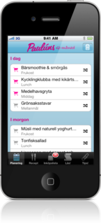 Paulúns GI-månad on iPhone