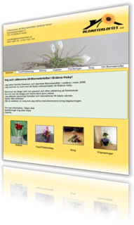 Website for Blomsterloftet in Leråkra, Karlskrona is published
