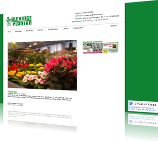 Blekingeplantan - New Website
